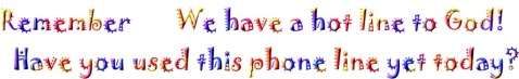 Hot Line to God Colour Text