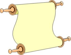 Yellow Scroll